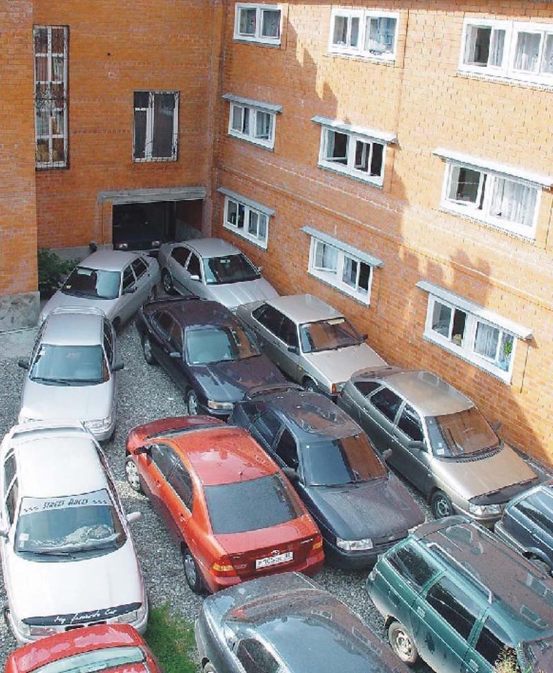 Бизнес-центры страдают от проблемы парковки тонкости домашне.